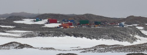 Not lego, but Casey research station